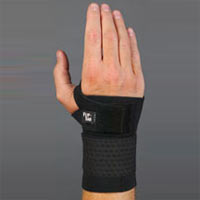 This brace will help you return to activity following wrist sprain or carpal tunnel.