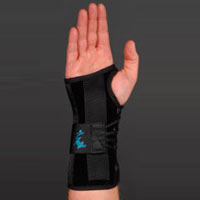 Great choice for wrist sprain/strains, carpal tunnel and post-cast support.