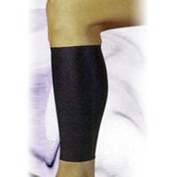 A contoured support brace with a pullover design for easy wear. It provides support, compression, and therapeutic warmth to the calf region. It's an ideal brace for sprains and strains.
